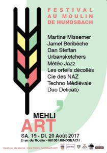 Affiche Mehli'Art août 2016