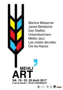 Mehli'Art août 2017