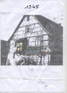 Moulin de Hundsbach en 1945