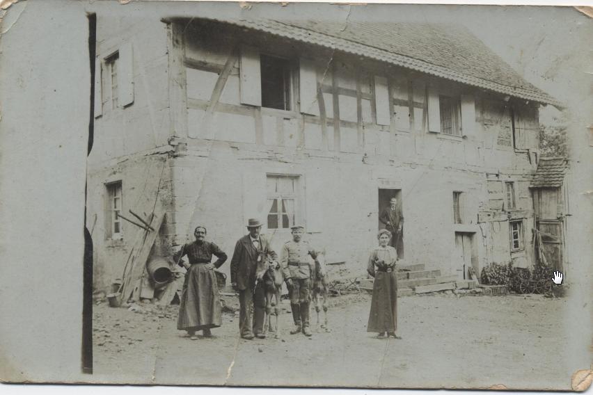 La famille Stoecklin : derniers meuniers en 1914-18