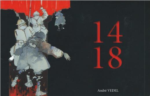Exposition des aquarelles du peintre imagier André Vedel sur la grande guerre