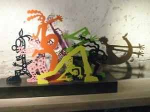 Sculpture de Sébastien Haller
