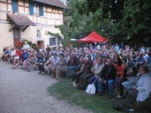 Une partie du  public au Concert de Hradcany