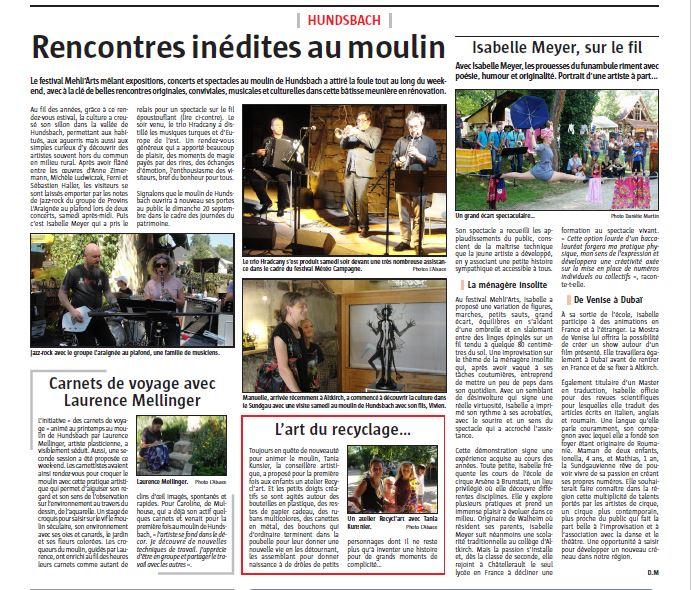 L'Alsace 24-04-2015