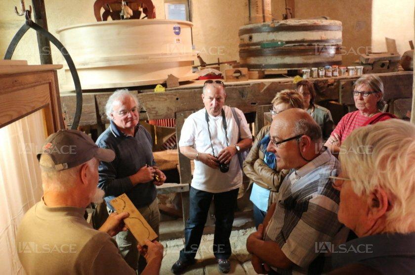 Visite guidée par Guy Meyer et Jean-Georges Pflimlin
