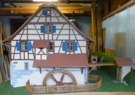 maquette du moulin de Hundsbach