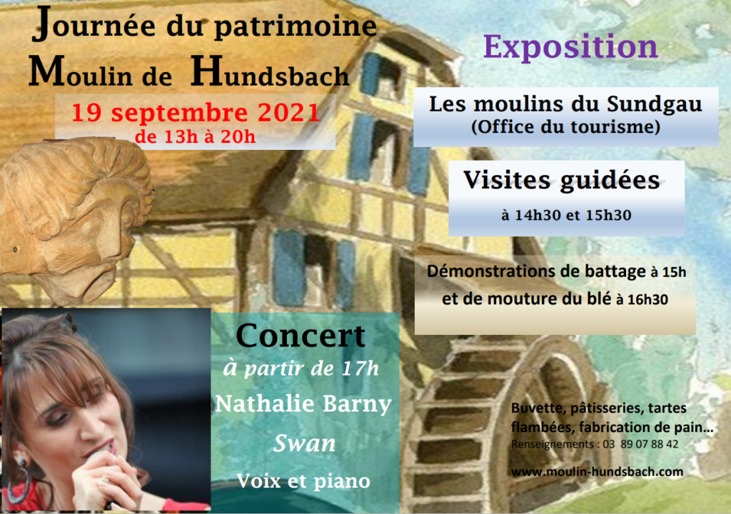 Journée du patrimoine Hundsbach 19 septembre 2021